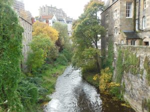 Dean Village/Edinburgh in autumn ©Maria Pakura